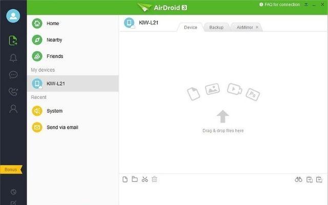 Lấy dữ liệu từ điện thoại vỡ màn hình bằng phần mềm Airdroid